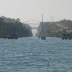 22_Einfahrt in den Kanal von Korinth